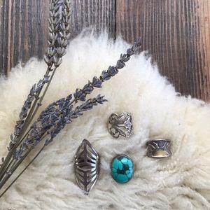 Jewelry - Gypsy Ring bundle set